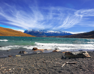 National Park Torres del Paine. Patagonia
