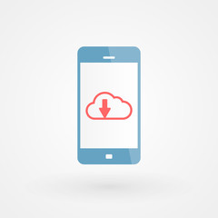 Smartphone and download cloud
