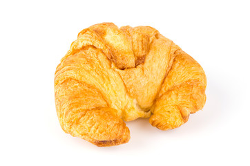 croissant isolated white background