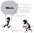 仕事量に差をつけるビジネスマン