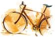 Leinwandbild Motiv Bike Race