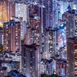 Hochhäuser in Hongkong
