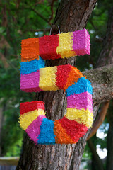 Pinata as numbers of five