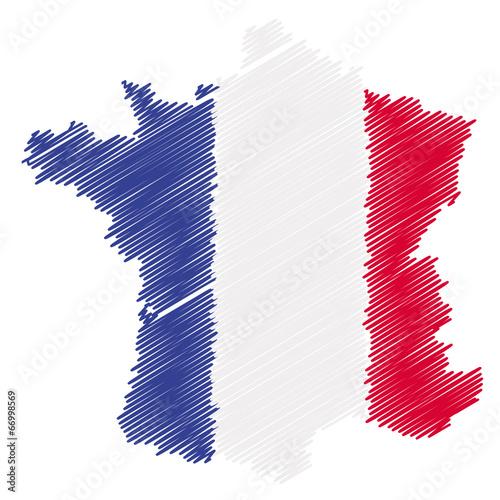 Carte de France Design Carte de France Design et