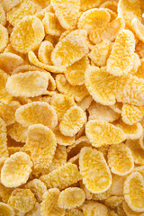 corn flakes as background