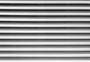 White window blind stripes