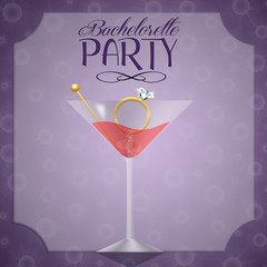 Invitation for bachelorette party