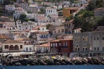 Marina Greece Island of Hydra.
