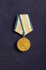 Medal since WWII for the defense of the Caucasus (USSR)
