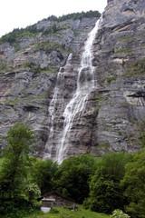 Wasserfall im Lauterbrunnental