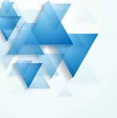 Bright blue tech background