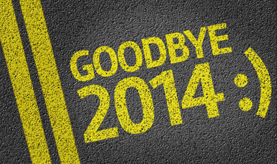 Goodbye 2014 :( written on the road