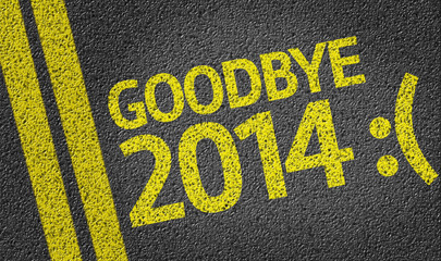 Goodbye 2014 :( written on the road
