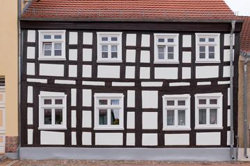 Saniertes Fachwerkhaus