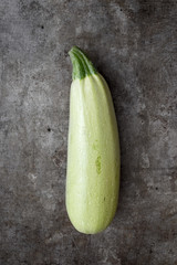 Organic Zuchini :Fresh picked natural vegetable