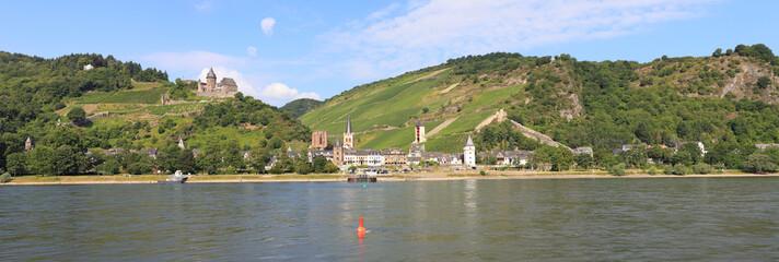 Bacharach am Rhein (Juli 2014)