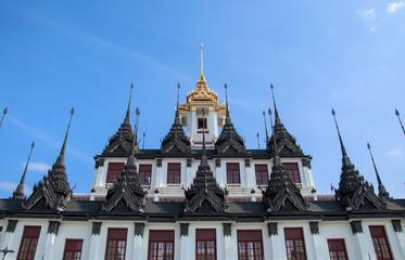 Loha Prasat Metal Palace in Wat Ratchanatdaram Worawihan