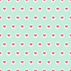 Hearts seamless background 7