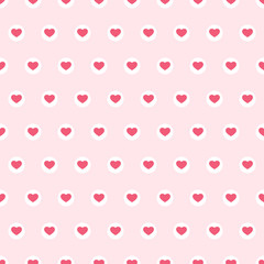 Hearts seamless background 8