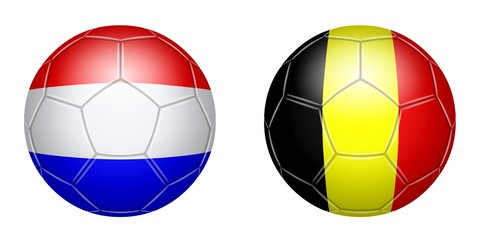 Football. Netherlands - Belgium