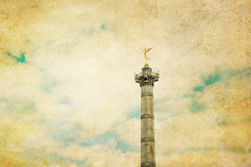 Retro Place de la Bastille