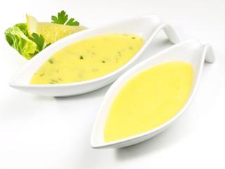 Buttersaucen - Sauce Bearnaise und Sauce Hollandaise