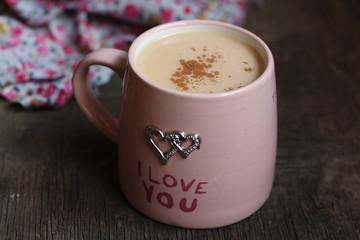 чай (кофе) с молоком