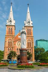 Saigon Notre Dame Basilica in Ho Chi Minh City, Vietnam