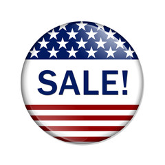 American Sale Button