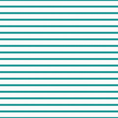 Thin Teal and White Horizontal Striped Textured Fabric Backgroun