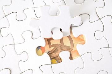 Puzzle - 50 Euro