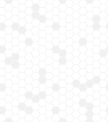 White hexagons seamless background