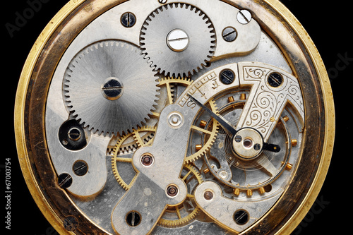 old clock machinery - 67003754