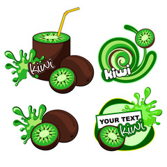 Vector lime labels