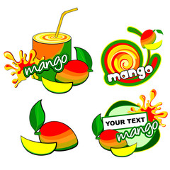 Vector mango.