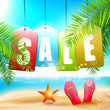 Summer sale - vector design