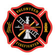 Volunteer Firefighter Maltese Cross - 67004569