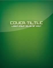 Green Carbon Fiber Cover