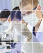 Male & Female Scientists in Laboratory