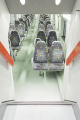Indoor Corridor train