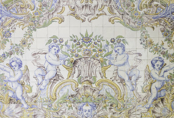 Angels in tile