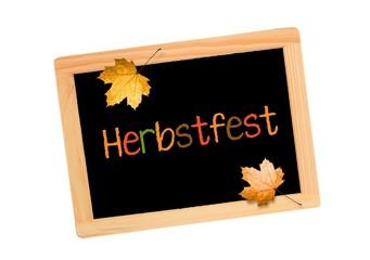 Herbstfest Tafel