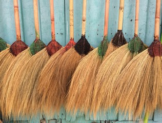 Broom is equipment for cleaning