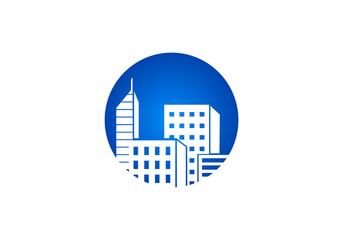 building icon vector logo