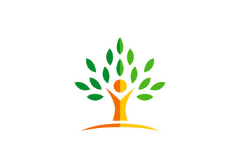 health people tree vector