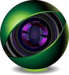 digital webcam icon