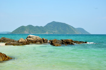 Leam Ka beach, nice beach in Phuket, Thailand