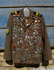 Médailles militaires pour collectionneur.