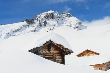 Grindelwald, winter scenery, Swiss Alps
