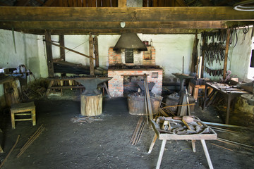 Old blacksmith workshop